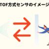 TOF方式センサのイメージ