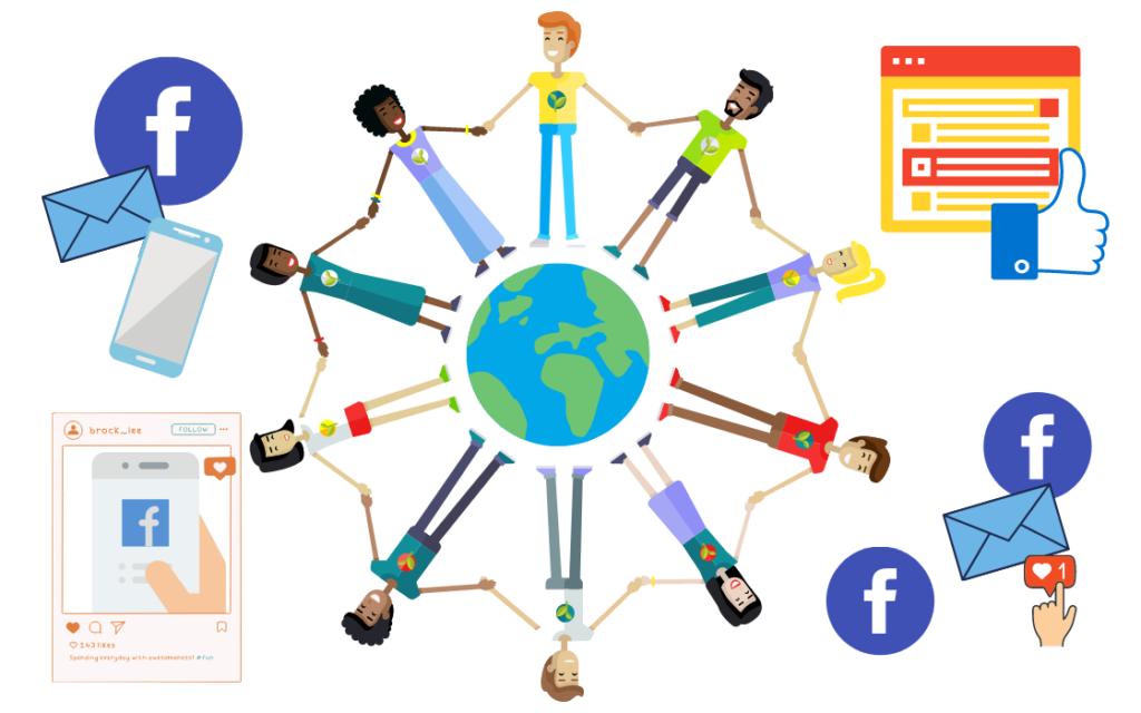 Facebookのビジョン・ミッションのイメージ